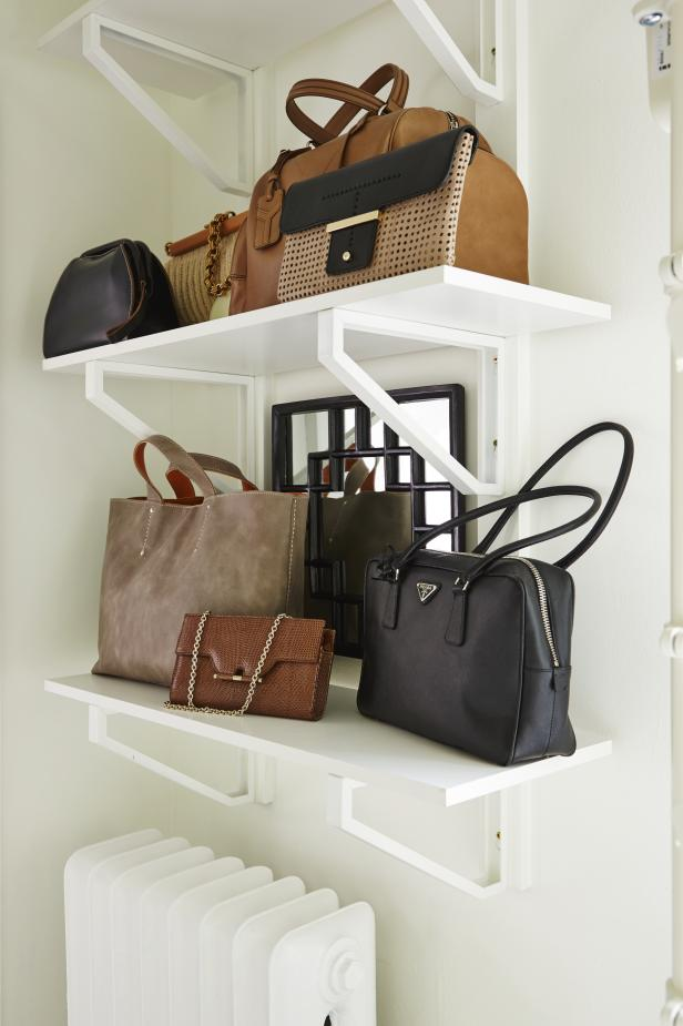 Industrial Closet Shelves From Sarah Sees Potential