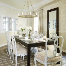 Light and Airy Traditional Dining Room From Sarah Sees Potential