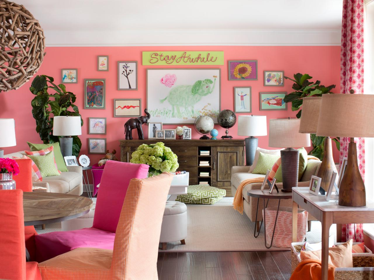Need a Dose of Color? Tour HGTV Spring House