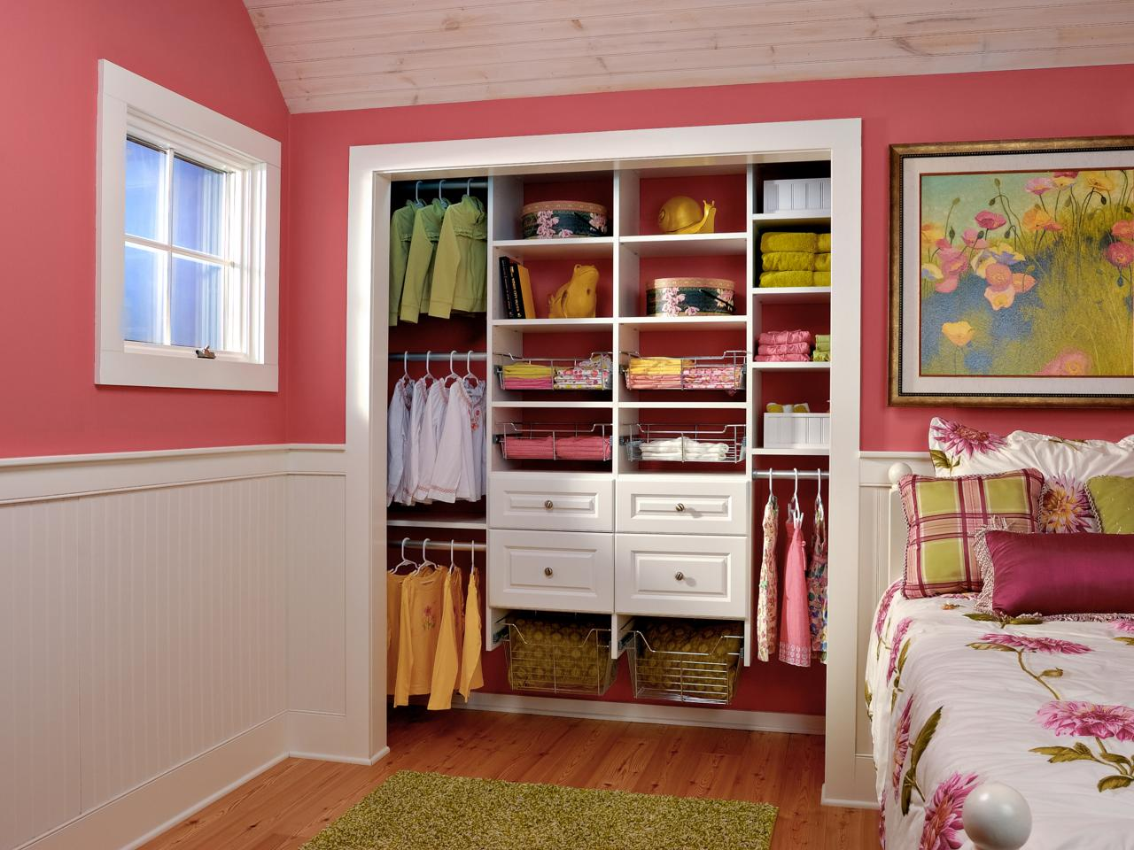 Photos hgtv for Kids room closet ideas