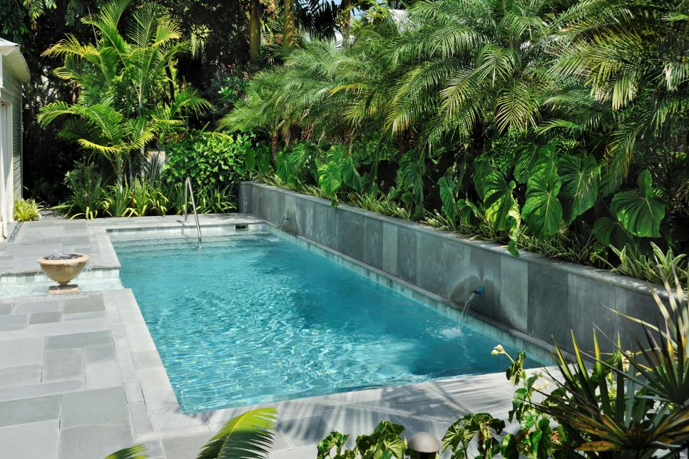 side by side - Backyard Swimming Pool Design