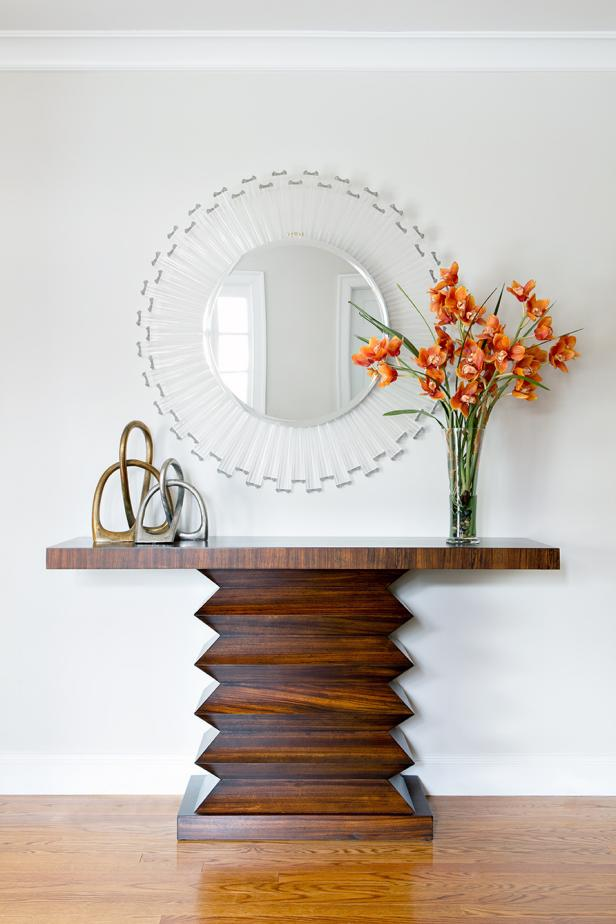 Contemporary Foyer Table : Photo page hgtv