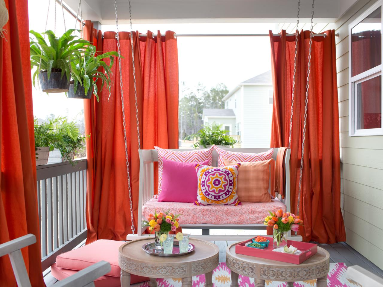 You 39 ll love these ideas for beautiful outdoor curtains diy - Outdoor room ideas pinterest ...