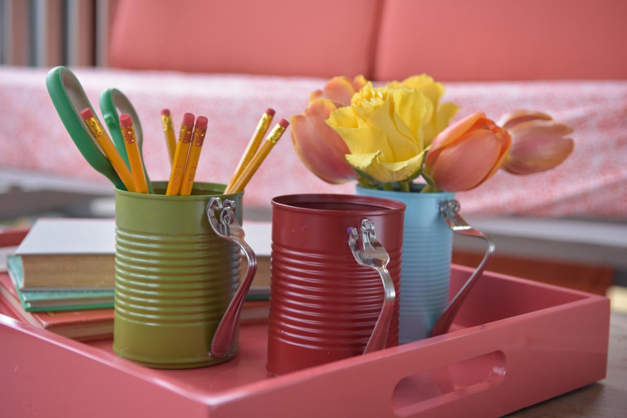 diy tin can crafts projects 1 hgtv