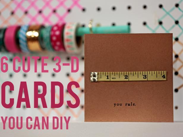 DIY 3-D Cards