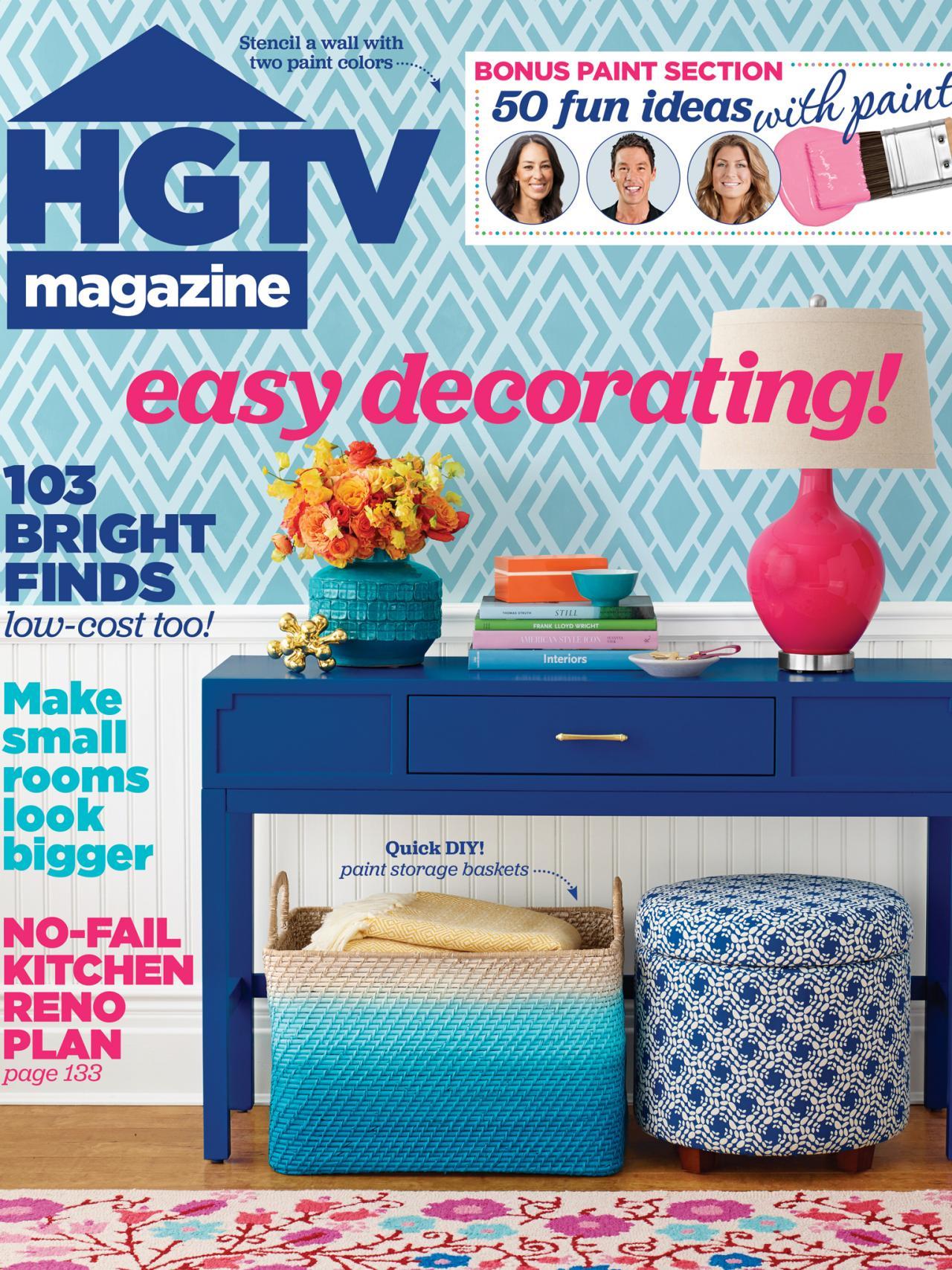 HGTV Magazine: May 2015 | HGTV