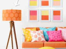 How to Paint a Pattern on a Lampshade