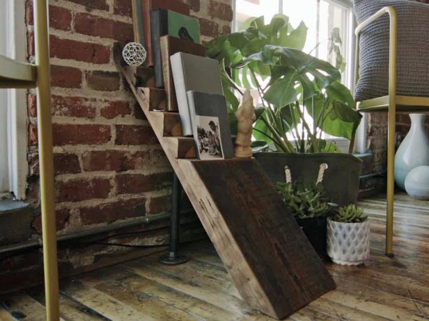 Ladder-Style Bookshelf