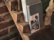 Dan Faires shows how to make a ladder-style bookshelf from reclaimed wood.