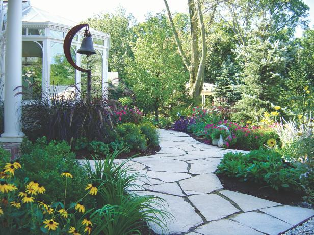landscaping ideas designs pictures hgtv - Garden Home Designs
