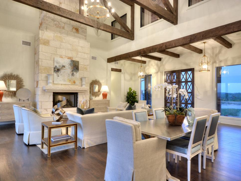 Chic Transitional Home With Southwestern Texas Charm | By Design