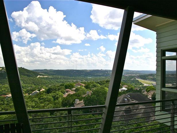 Beautiful Porch View of Austin, Texas