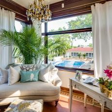 Rehab Addict: Bright and Fresh Sunroom After Restoration