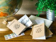 How to Make a Passport-Style Party Invitation