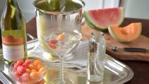 Sweet Melon Springtime Cocktail