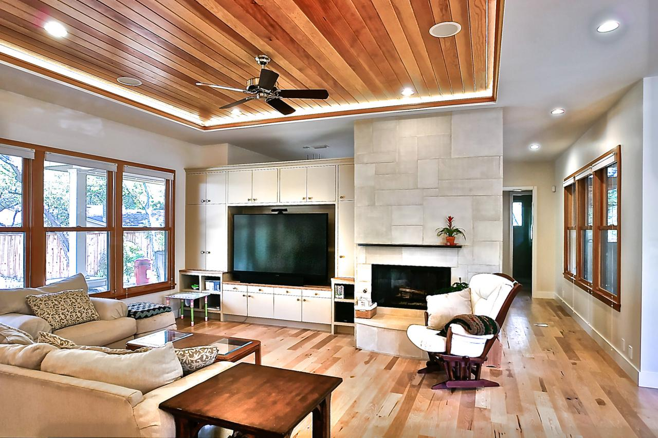 Unique wood valuated ceiling ideas 3