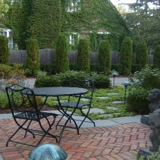 C.B. Conlin Landscape: Private Alfresco Dining for Two