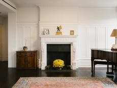 Pre-War Style Apartment Fireplace
