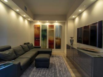 Modern Media Room Projects Class and Comfort