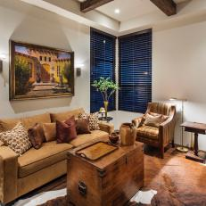 southwestern living room furniture. Comfortable Living Room With Southwestern Influences Photos  HGTV