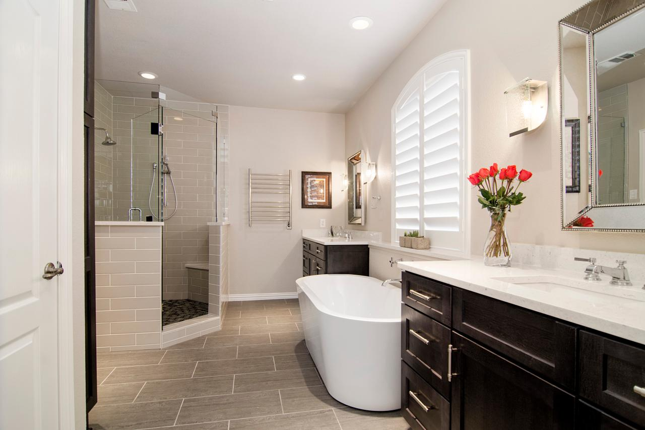 Master bathrooms hgtv for Master bathroom ideas