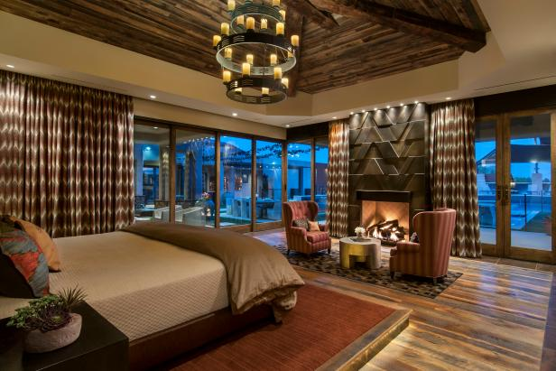 Master Bedroom Boasts Hotel Luxury