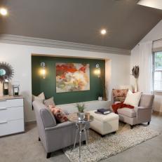 Sitting Room in Attic Master Suite