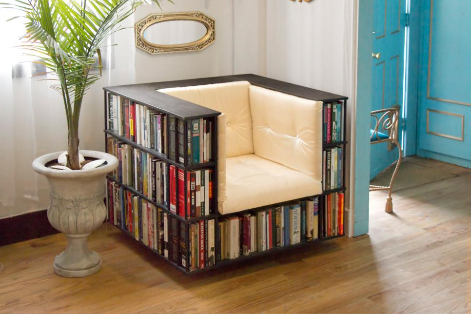 21 beautiful bookcases and creative book storage ideas hgtv Under bed book storage