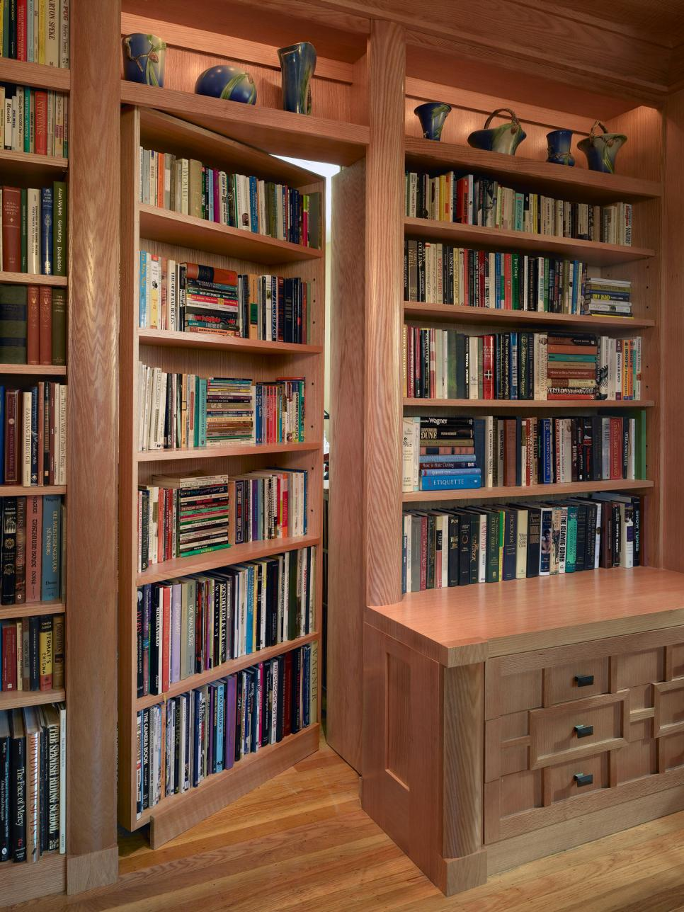 21 beautiful bookcases and creative book storage ideas hgtv Bookshelves in bedroom ideas