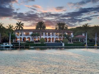 Mediterranean Villa on Coral Gables Waterfront