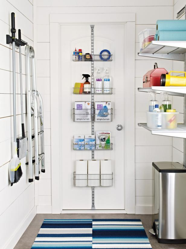 10 clever storage ideas for your tiny laundry room hgtv 39 s decorating design blog hgtv - Small spaces storage solutions image ...