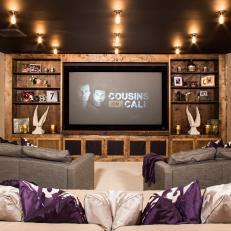 Modern Home Theater System for the Odoms