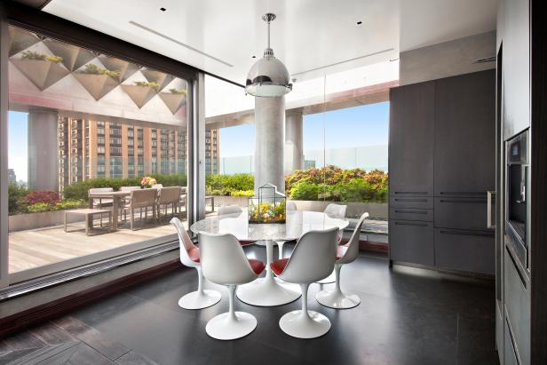 Dining Room: Penthouse Perch in New York City