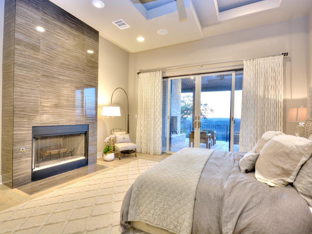 Photos by design custom home concierge hgtv for Rectangular master bedroom