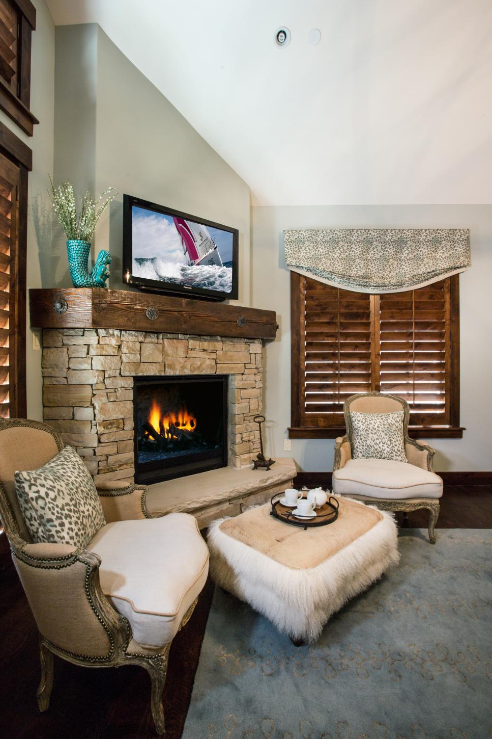 20 bedroom fireplace designs hgtv