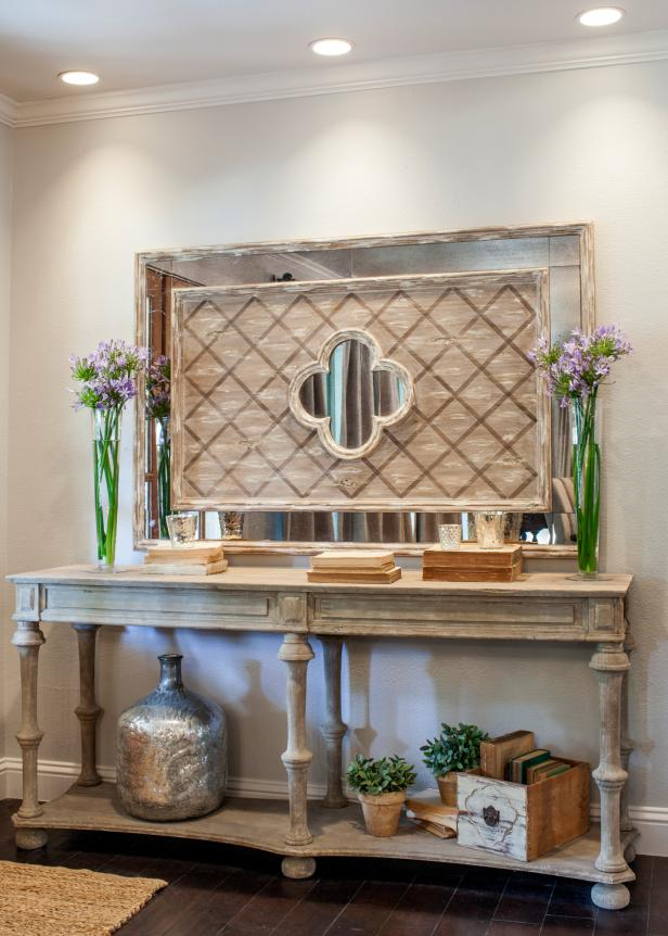 Fixer Upper Remodeled French Country Style Entryway HGTV