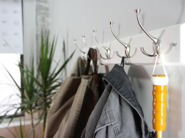 How To Hang A Coat Rack On A Wall How Tos Diy