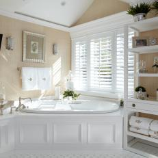 Beach House Master Bathroom Is Luxurious, Relaxing