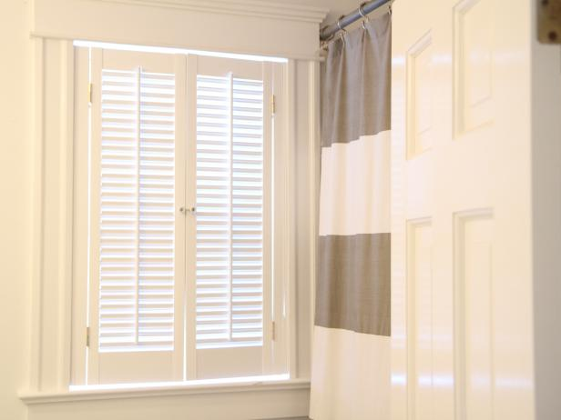 How to install interior plantation shutters how tos diy for Wood doors and shutters