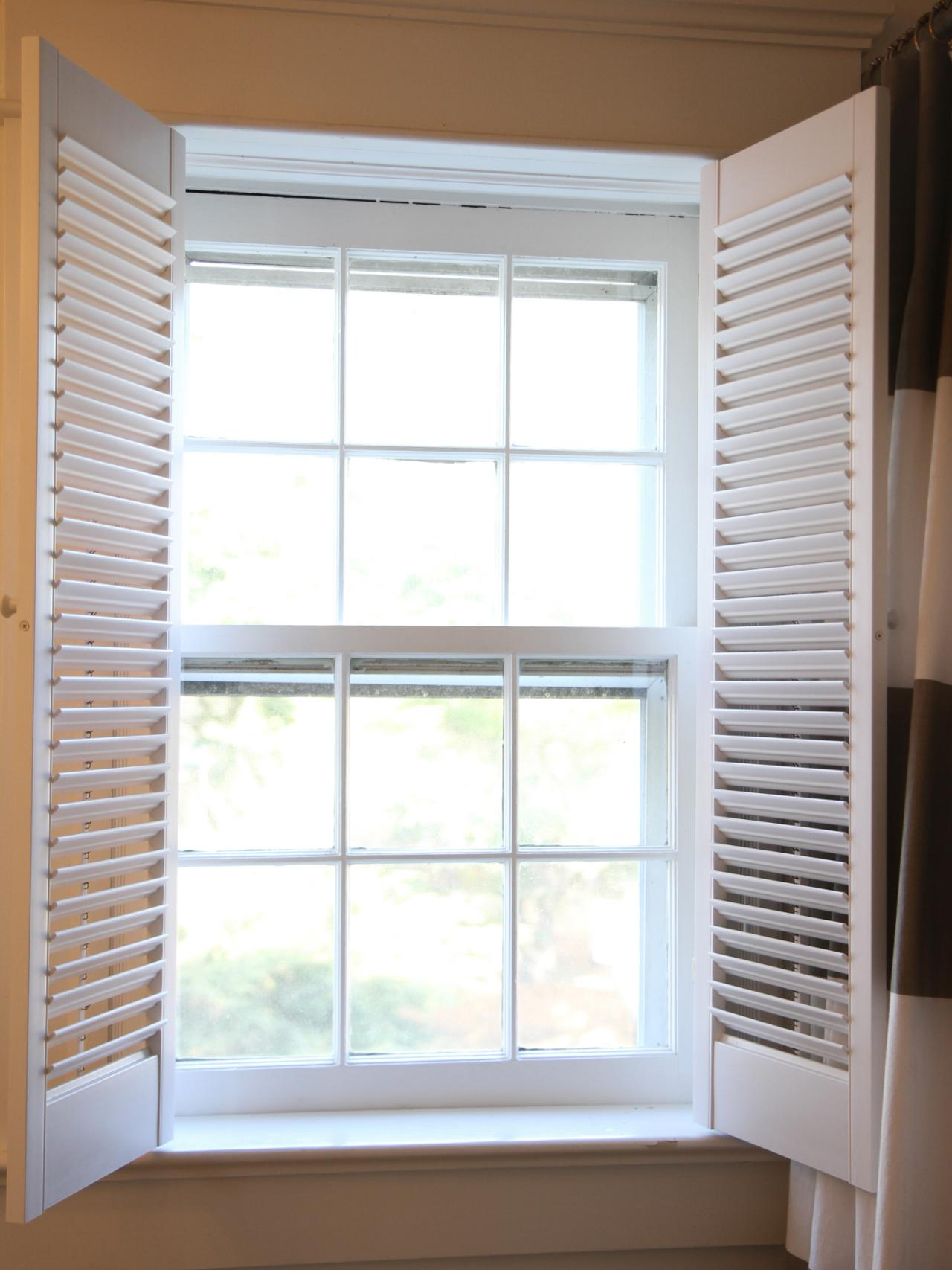 How To Install Interior Plantation Shutters How Tos Diy