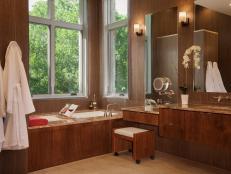 Natural Light in Master Bathroom