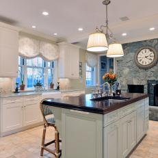Traditional Cottage Kitchen Is Cozy, Elegant