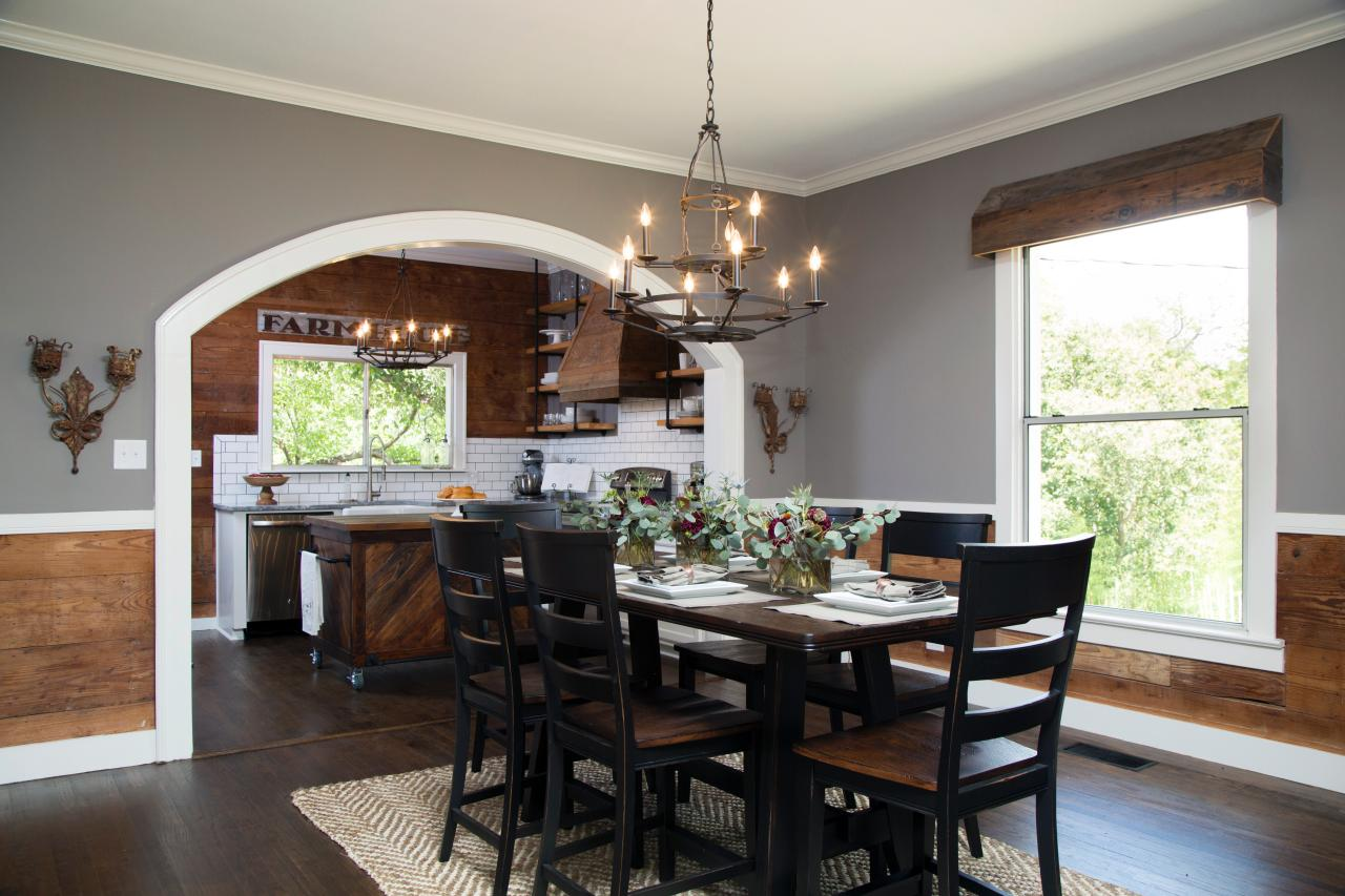 Fixer upper a craftsman remodel for coffeehouse owners for Kitchen dining room decor