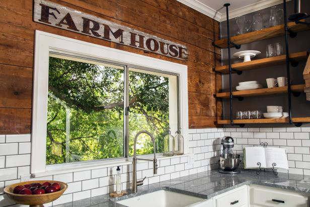 Joanna Gaines Home Design laundry and pantry hall A Farmhouse Kitchen