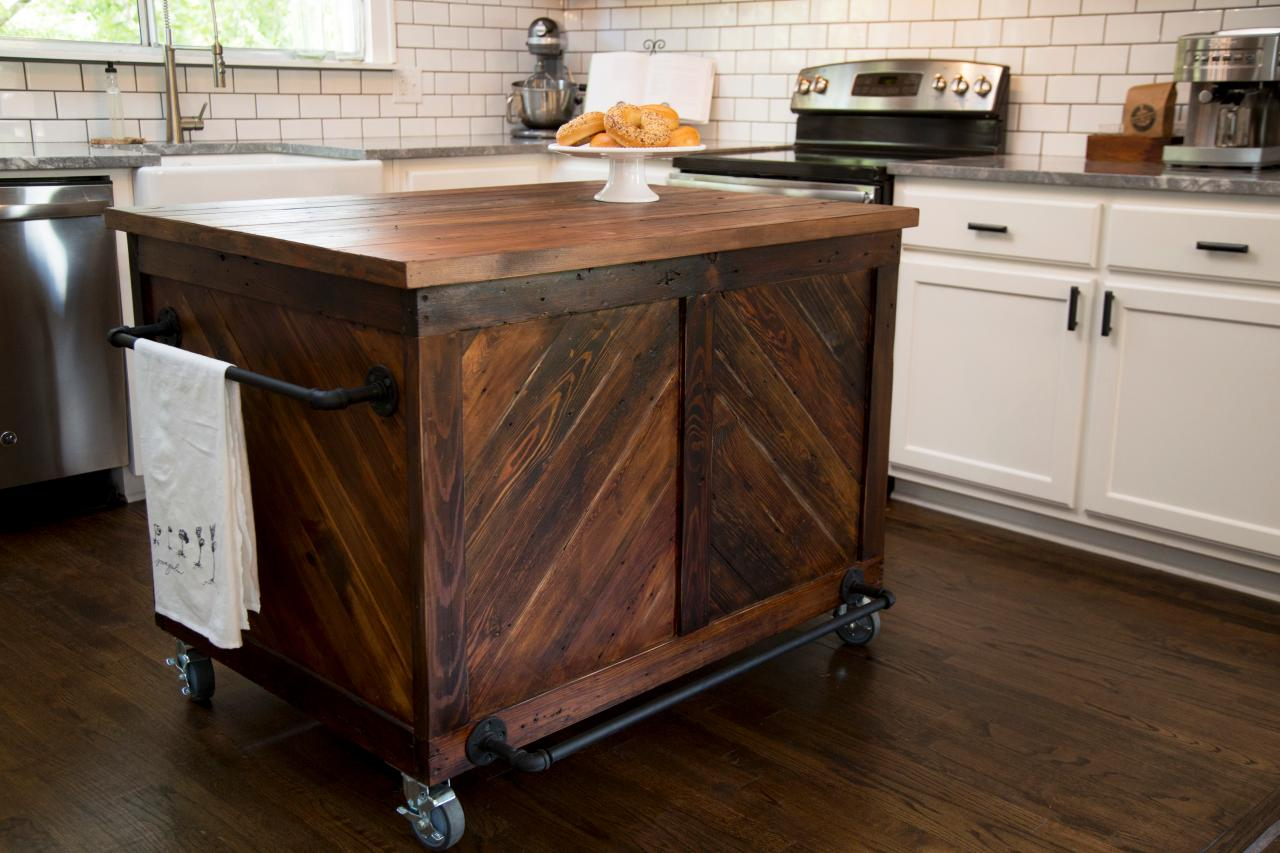 Fixer upper double kitchen island - Fixer Upper Industrial Kitchen The Makeover