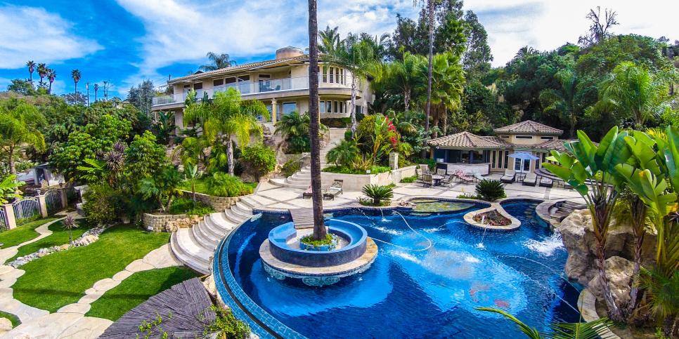 Ultimate Backyard Pools :  Pool in La Mesa, Calif  HGTVcoms Ultimate House Hunt 2015  HGTV