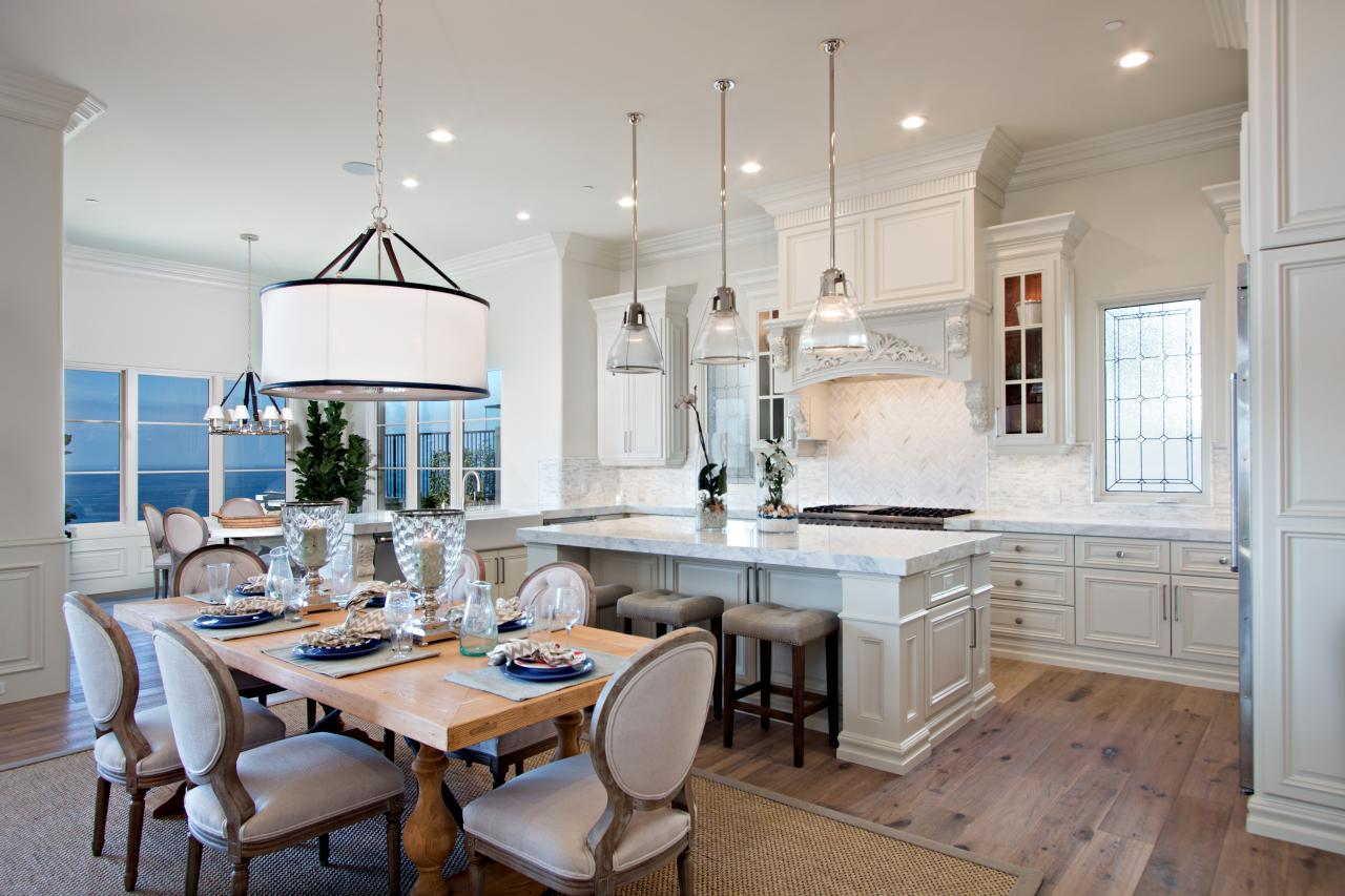 attractive Open Floor Plans With Large Kitchens #8: Amazing Kitchens