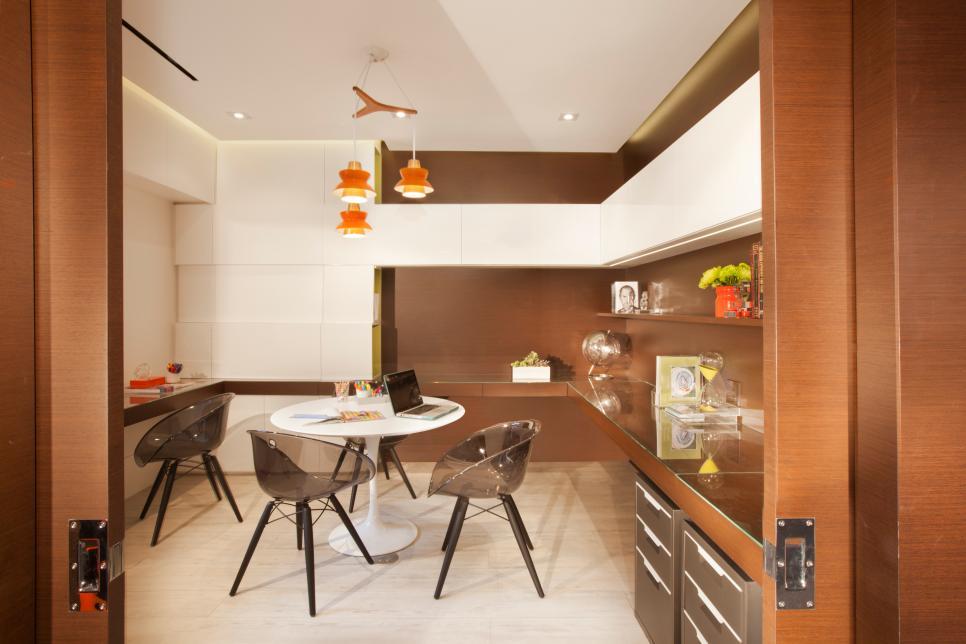 Mid Century Modern Home Office rooms viewer | hgtv
