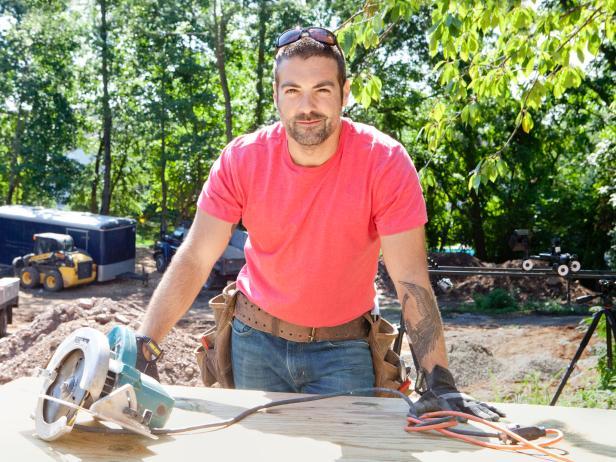 HGTV's Anthony Carrino on Construction site