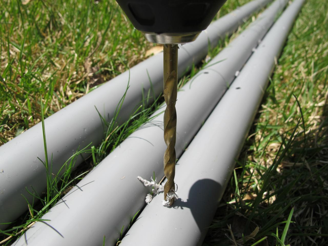 How To Make A Tripod Garden Trellis From Pvc Pipe How